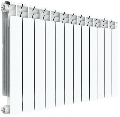 Радиатор RIFAR ALP 500 x12 НП прав (AVR) биметаллический радиатор rifar рифар b 500 нп 10 сек лев кол во секций 10 мощность вт 2040 подключение левое