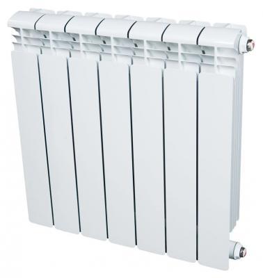 Радиатор RIFAR Alum 500 х 7 сек собранный биметаллический радиатор rifar рифар b 500 нп 10 сек лев кол во секций 10 мощность вт 2040 подключение левое