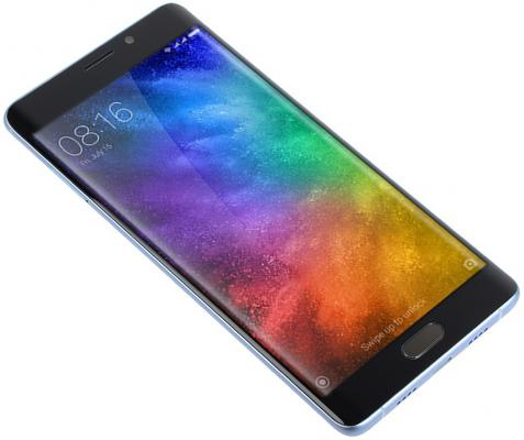 Смартфон Xiaomi Mi Note 2 серебристый черный 5.7 64 Гб NFC LTE Wi-Fi GPS 3G Mi_Note 2_64GB_Silver Black xiaomi otricaet vypysk ploskoi versii mi note 2