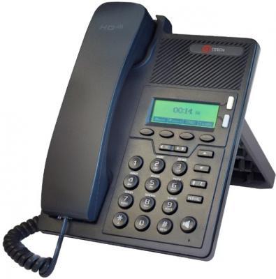 Телефон IP QTECH QVP-90P черный