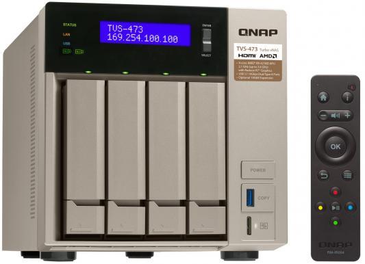 Сетевое хранилище QNAP TVS-473-8G