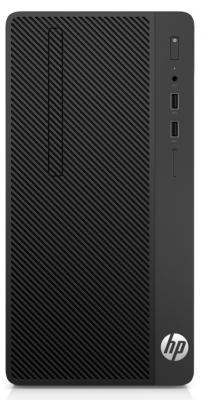 Системный блок HP Bundles 290 G1 i5-7500 3.4GHz 4Gb 500Gb DVD-RW DOS черный + монитор V214 2RT83ES ноутбук hp 15 ac126ur core i3 5005u 2ghz 4gb 15 6 500gb dvd rw wifi bt free dos silver p0g27ea