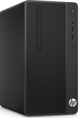 Системный блок HP 290 G1 i5-7500 3.4GHz 4Gb 500Gb DVD-RW Win10Pro черный 2RU11ES системный блок lenovo s200 mt j3710 4gb 500gb dvd rw dos клавиатура мышь черный 10hq001fru
