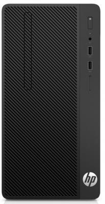 Системный блок HP 290 G1 i5-7500 3.4GHz 4Gb 1Tb DVD-RW DOS черный 2RU10ES
