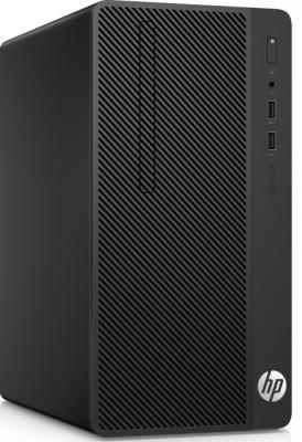 Системный блок HP 290 G1 i3-7100 3.9GHz 4Gb 128Gb SSD DVD-RW Win10Pro черный 2RU09ES
