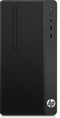 Системный блок HP 290 G1 i3-7100 3.9GHz 4Gb 128Gb SSD DVD-RW DOS черный 2RU08ES