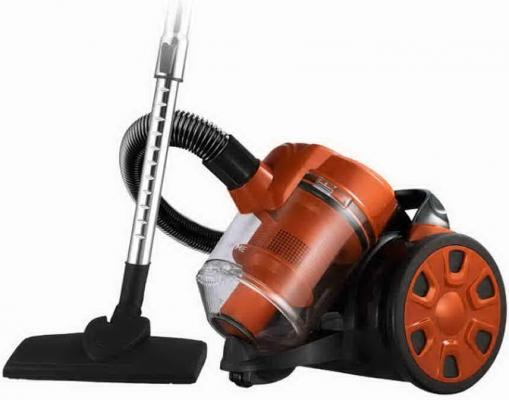 Пылесос HOME ELEMENT HE-VC1802 сухая уборка чёрный оранжевый