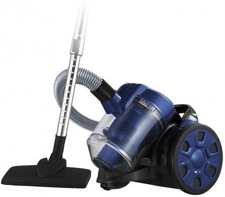 Пылесос HOME ELEMENT HE-VC1802 сухая уборка чёрный синий