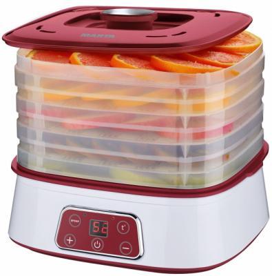 все цены на Сушилка для овощей и фруктов Marta MT-1947 красный рубин онлайн