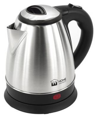 Чайник HOME ELEMENT HE-KT177 1800 Вт стальной чёрный 1.7 л металл/пластик