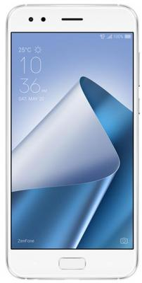 Смартфон ASUS ZenFone 4 ZE554KL белый 5.5 64 Гб NFC LTE Wi-Fi GPS 3G 90AZ01K5-M01220 смартфон asus zenfone 4 max zc554kl черный 5 5 16 гб lte wi fi gps 3g 90ax00i1 m00010