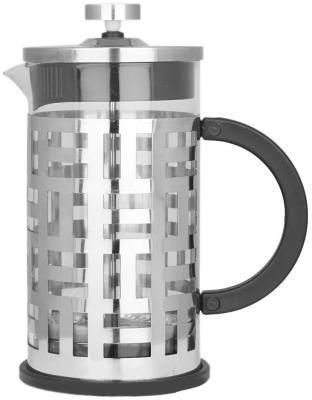 Френч-пресс Zeidan Z4148 серебристый 1 л металл/стекло от 123.ru