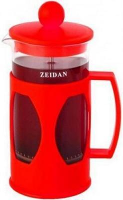 Френч-пресс Zeidan Z-4099 красный 0.6 л пластик/стекло от 123.ru