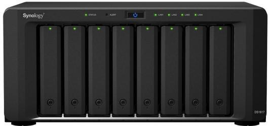 Сетевое хранилище Synology DS1817 8x2,5 / 3,5 рэковое сетевое хранилище rack nas lenovo e1012 64111b2