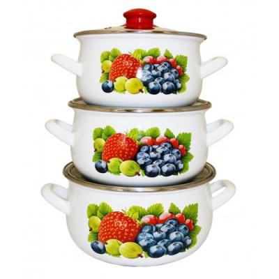 Набор посуды Interos 16012 Фреш набор посуды interos 15231 маслины