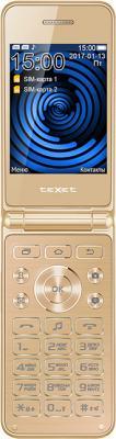 Мобильный телефон Texet TM-400 золотистый