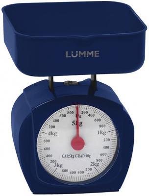 Весы кухонные Lumme LU-1302 темный топаз