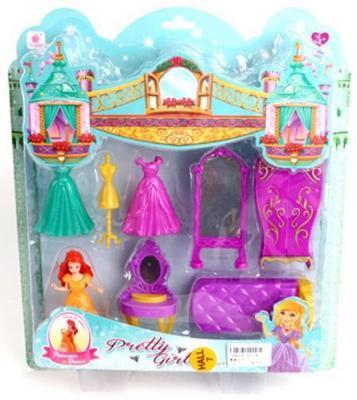 """Игровой набор Shantou Gepai """"Спальня принцессы"""" 8 предметов"""