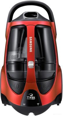 Пылесос Samsung VCC885FH3P сухая уборка красный пылесос lg vk76a06ndr сухая уборка красный серый