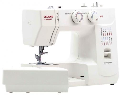 Швейная машина Janome Legend LE-17 белый