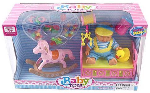 """Игровой набор Shantou Gepai """"Fashion"""" bambolina игровой набор с куклой пупс в ванночке"""