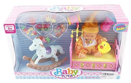 Купить Пупс Shantou Gepai 634785 14 см, Классические куклы и пупсы