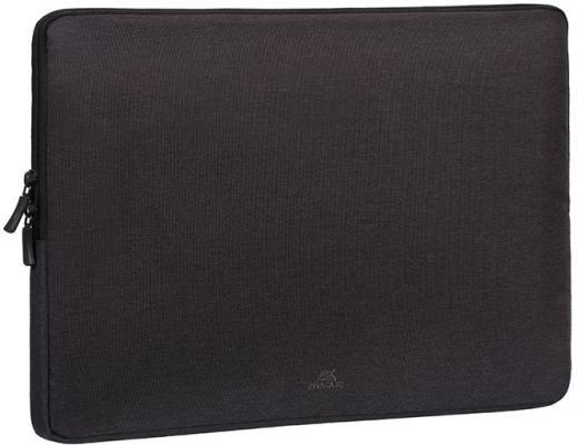Чехол для ноутбука 15.6 Riva 7705 полиэстер черный сумка для ноутбука 10 riva 8010 полиэстер черный