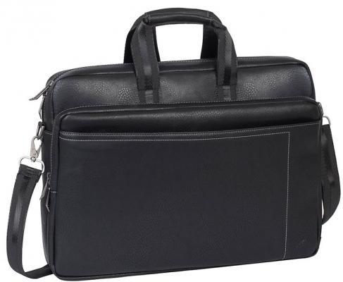 Сумка для ноутбука 16 Riva 8940 PU искусственная кожа черный riva case riva case 8290 16 черный синтетический