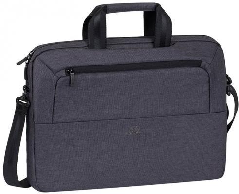 Сумка для ноутбука 15.6 Riva 7730 полиэстер черный сумка для ноутбука 10 riva 8010 полиэстер черный