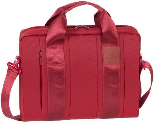 Сумка для ноутбука 13.3 Riva 8820 red полиэстер красный сумка для dslr камер riva 7228 black red