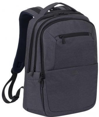 Рюкзак для ноутбука 16 Riva 7765 полиэстер черный riva 9101 ultraviolet