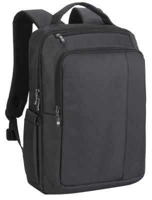 рюкзак 17 3 riva 7860 черный Рюкзак для ноутбука 15.6 Riva 8262 полиэстер черный
