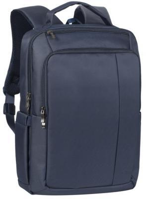 """Рюкзак для ноутбука 15.6"""" Riva 8262 полиэстер синий riva 8065 red рюкзак для ноутбука 15 6"""