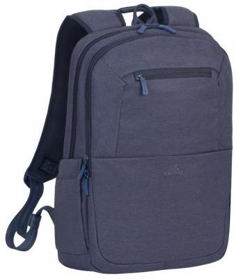 """Рюкзак для ноутбука 15.6"""" Riva 7760 полиэстер синий цена"""