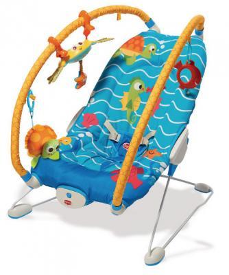 Люлька-баунсер Tiny Love Подводный мир кресла качалки шезлонги tiny love люлька баунсер люкс