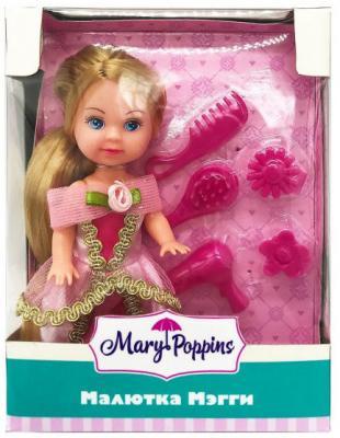 Кукла Mary Poppins Малютка Мэгги - Златовласка 9 см mary poppins интерактивная кукла я считаю пальчики mary poppins