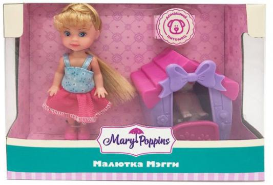 Кукла Mary Poppins Малютка Мэгги - Дом для питомца 9 см игрушечная бытовая техника mary poppins умный дом