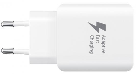 Сетевое зарядное устройство Samsung EP-TA300CWEGRU USB 2.1A белый сетевое зарядное устройство samsung ep ta300cwegru 2 1а usb type c белый