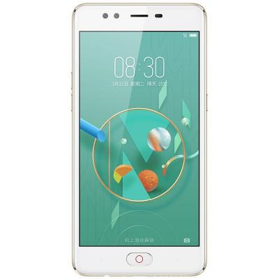 Смартфон ZTE Nubia M2 Lite золотистый 5.5 32 Гб LTE Wi-Fi GPS 3G смартфон micromax bolt q346 lite 3g 8gb blue