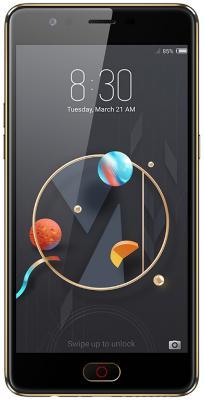 Смартфон ZTE Nubia M2 Lite черный 5.5 32 Гб LTE Wi-Fi GPS 3G NX573J смартфон zte blade a510 серый 5 8 гб lte wi fi gps 3g