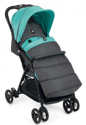 Купить Коляска прогулочная Cam Curvi (120/темно-серый/бирюзовый), серый, бирюзовый, Прогулочные коляски