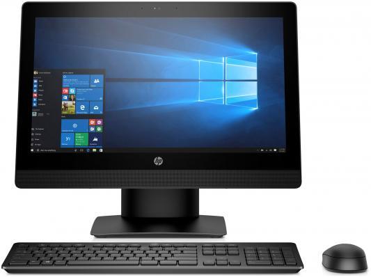 Моноблок 20 HP ProOne 400 G3 1600 x 900 Intel Core i5-7500T 4Gb 500Gb Intel HD Graphics 630 Windows 10 Professional черный 2KL18EA моноблок hp pavilion 24 x009ur intel core i7 7700t 8гб 2тб intel hd graphics 630 windows 10 белый [2mj60ea]