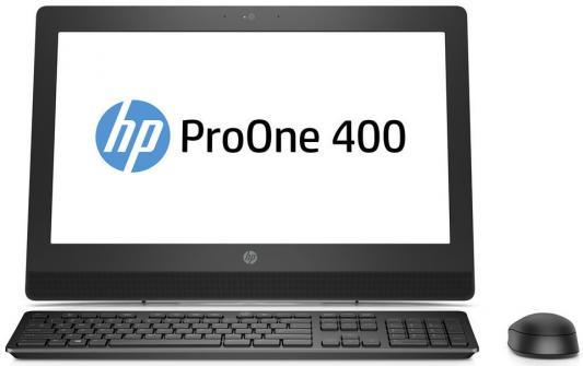 Моноблок 20 HP ProOne 400 G3 All-in-One 1600 x 900 Intel Pentium-G4560T 4Gb 500Gb Intel HD Graphics 610 Windows 10 Professional черный 2KL20EA моноблок hp proone 400 g2 intel pentium g4400t 4гб 500гб intel hd graphics 510 dvd rw windows 10 черный [t4r55ea]