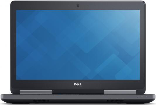 Ноутбук DELL Precision 7520 15.6 1920x1080 Intel Core i7-7820HQ 7520-8017 precision