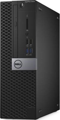 Системный блок DELL Optiplex 5050 i5-6500 3.2GHz 8Gb 500Gb HD530 DVD-RW Win7Pro Win10Pro клавиатура мышь черный 5050-8185