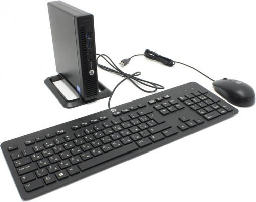 Компьютер HP 260 G2.5 DM Intel Core i3-6100U 4Gb 500Gb Intel HD Graphics 520 Windows 7 Professional + Windows 10 Professional черный 2KL48EA