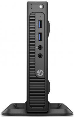 Компьютер HP 260 G2.5 DM Intel Pentium-4405U 4Gb SSD 128 Intel HD Graphics 510 Windows 10 Professional черный 2TP25EA