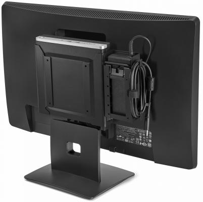 "Неттоп 23"" HP Bundle 400 G3 Mini 1920 x 1080 Intel Core i3-7100T 4Gb 500Gb Intel HD Graphics 630 Windows 10 Professional черный 2KL66ES"