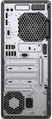 Системный блок HP EliteDesk 800 G3 i7-7700K 4.2GHz 16Gb 2Tb 256Gb SSD GTX1080-8Gb DVD-RW Win10Pro серебристо-черный 2SF59ES