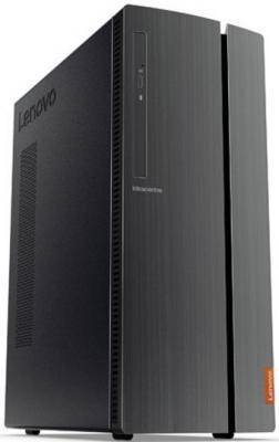 Неттоп Lenovo IdeaCentre 510-15IKL Intel Core i3-7100 8Gb 1Tb nVidia GeForce GTX 1050 2048 Мб DOS черный 90G8001URS